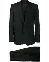 Dolce & Gabbana Traje de dos piezas - Negro