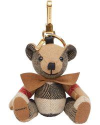 Burberry Брелок Thomas Bear - Многоцветный