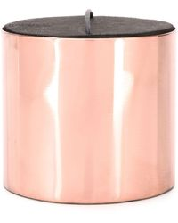 Parts Of 4 Lemongrass Scented Candle (480g) - Metallic