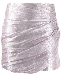 DSquared² Minijupe à design drapé - Rose