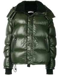Green Lyst Padded Fitted Jacket Aspesi In awpZqxwI