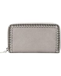 Stella McCartney 'falabella' Grailed Wallet - Grijs