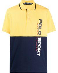 Polo Ralph Lauren - Рубашка-поло В Двух Тонах - Lyst