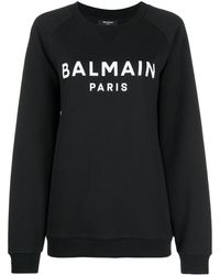 Balmain - ロゴ スウェットシャツ - Lyst