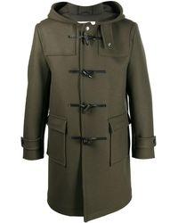 Mackintosh Duffle-coat Weir - Vert