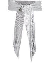 B-Low The Belt Large Tie Belt - Metallic