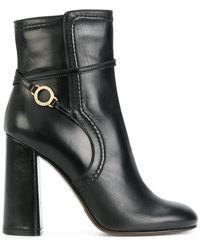 L'Autre Chose - Stitch Detailed Ankle Boots - Lyst
