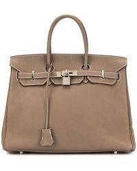 Hermès Bolso Birkin 35 - Marrón