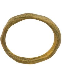 Rosa Maria - Uneven Textured Ring - Lyst