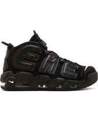 Supreme X Nike Air More Uptempo Sneakers - ブラック