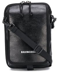 Balenciaga 'Explorer' Kuriertasche - Schwarz