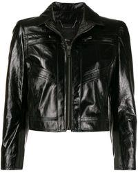 Givenchy Приталенная Куртка - Черный