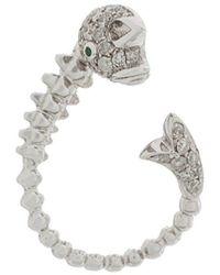 Yvonne Léon Fish Earrings - Metallic