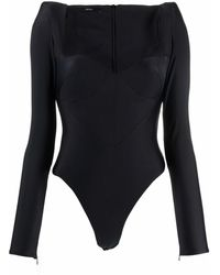 Alex Perry Reese Long-sleeved Bodysuit - Multicolour