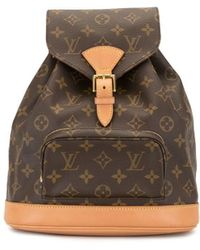Louis Vuitton Mochila Montsouris 2000 pre-owned - Marrón