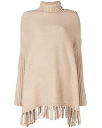 Snobby Sheep - Poncho-style Sweater - Lyst