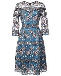 Prabal Gurung - Fit & Flare Lace Dress - Lyst