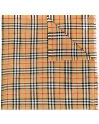 Burberry チェック スカーフ - マルチカラー