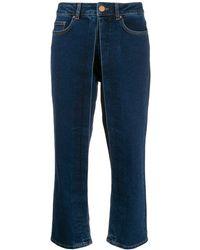 AALTO Straight-leg Pants - Blue