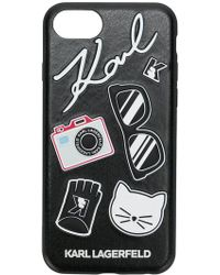 Karl Lagerfeld - K/klassik Pins Iphone X Case - Lyst