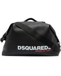 DSquared² ロゴ ダッフルバッグ - ブラック