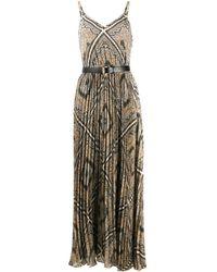 MICHAEL Michael Kors Плиссированное Платье С Геометричным Принтом - Многоцветный