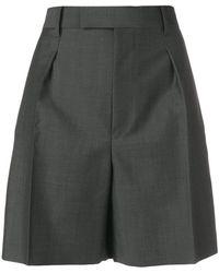 Junya Watanabe - Pantalones cortos acampanados de talle alto - Lyst