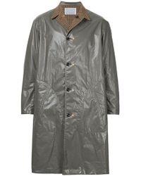 Kolor - Contrast Metallic Coat - Lyst
