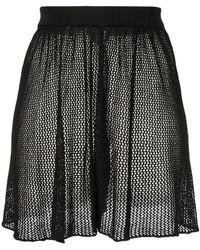 Moeva - Tiara Mesh Shorts - Lyst