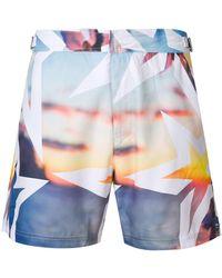 Perfect Moment Essential Resort Print Shorts - Multicolour