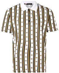 Versace メデューサ ポロシャツ - マルチカラー