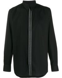 Givenchy ロゴ シャツ - ブラック