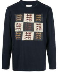Kent & Curwen T-shirt con stampa - Blu