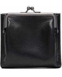discord Yohji Yamamoto Medium Clasp 財布 - ブラック