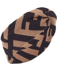 Fendi - Ff Motif Hairband - Lyst
