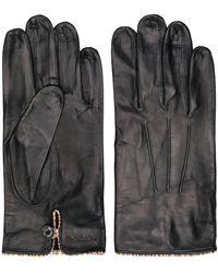 Paul Smith レザー手袋 - ブラック