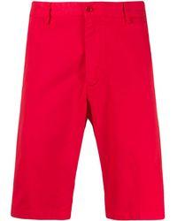 Paul & Shark Chino Shorts - Rood