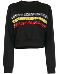 NO KA 'OI Rush Sweater With Embroidery - Black