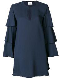 Dondup - Frill-sleeve Shift Dress - Lyst
