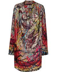 Vivienne Westwood シフトドレス - レッド