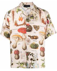Amiri Camisa con estampado botánico - Multicolor