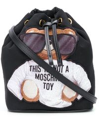 Moschino Сумка-ведро Teddy Bear - Черный
