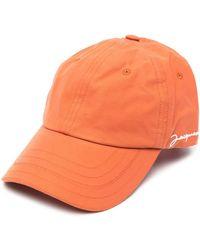 Jacquemus Hats Orange