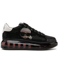 Karl Lagerfeld スパンコール スニーカー - ブラック