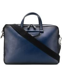Jimmy Choo Knox Briefcase - Blue