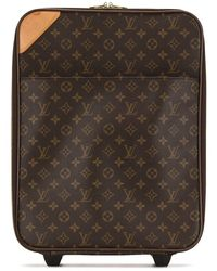 Louis Vuitton Pre-owned Monogram-print Suitcase - Brown