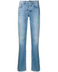 Ganni - Straight Leg Jeans - Lyst