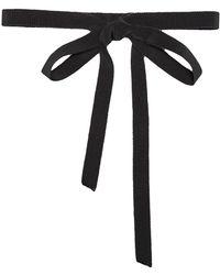 Gucci Schleife aus Ripsband - Schwarz