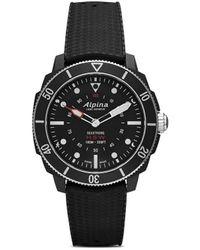 Alpina Наручные Часы Seastrong Horological Smartwatch 44 Мм - Черный