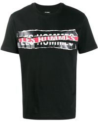 Les Hommes - ロゴ Tシャツ - Lyst